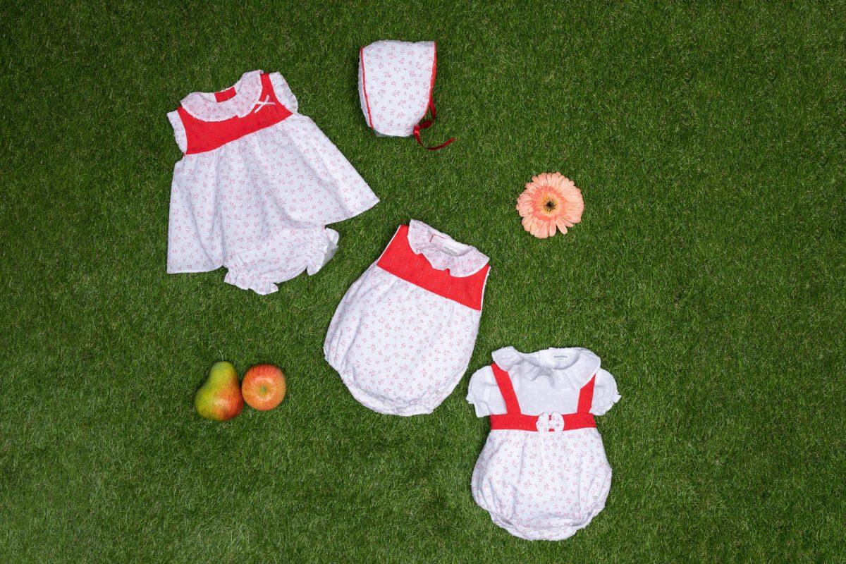 Cómo vestir a un recién nacido en primavera